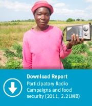 Download Report #1:  Participatory Radio Campaigns and food security