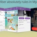 Wow! Viber Beats Facebook in Myanmar