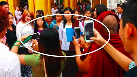 Wow! Myanmar is Going Straight to Smartphones