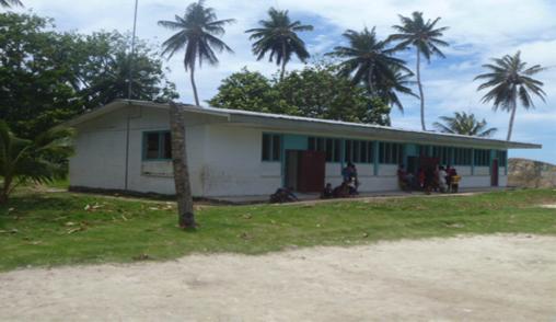 School in Chuuk located in Micronesia